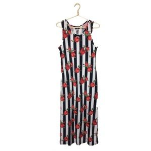 Dresses & Skirts - 🆑CLEARANCE🆑 NWT Stripes & Roses Maxi Dress XL